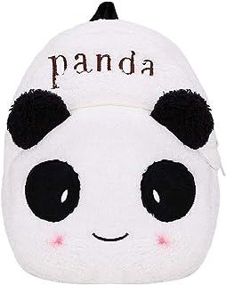 Peluche Panda Mochila, para Niños Mochila Infantil para Kindergarten Mochila los Animales de Peluche de Dibujos Animados de la Panda Mochila Mini Escuela de Bolsa