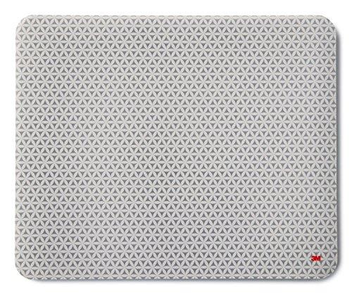 3M Mauspad mit selbsthaftender Unterseite, 21,5 x 17,8 cm, grau | MS200PS