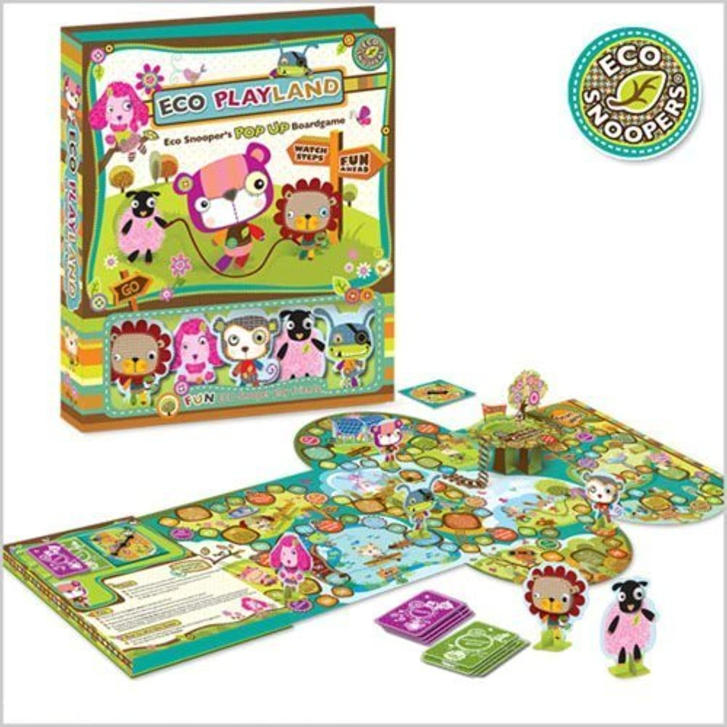 Eco Playland Eco Park Board Game by Picoware