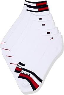 Tommy Hilfiger Men's Tommy Hilfiger 3 Pack Iconic Flag Gift Quarter Crew Socks
