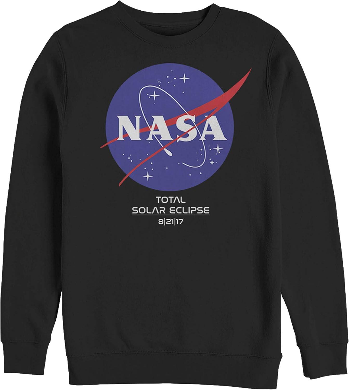 Men's Popularity NASA Classic Logo Total Eclipse 2017 Sweatshirt Solar Japan's largest assortment