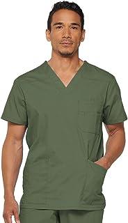 قميص طبي اي دي اس سيغناتشر بقبة v للرجال من دكيز