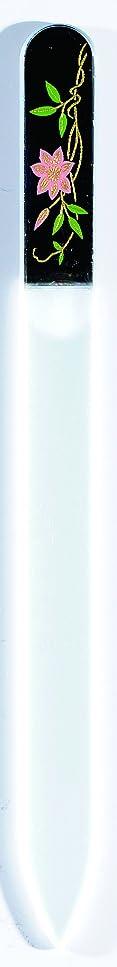 朝の体操をするマラソン招待橋本漆芸 ブラジェク製高級爪ヤスリ 六月 鉄仙 OPP