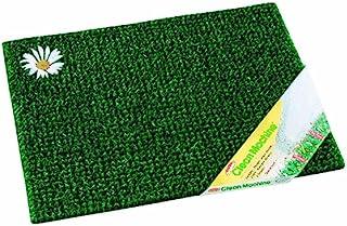 """Clean Machine Scraper Door Mat 17-1/2"""" X 23-1/2"""" Green Astroturf"""