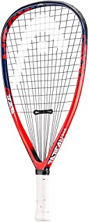 Head Radical Edge Racquetball Racquet, Strung, 3 5/8 Grip