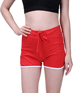 HDE Plus Size Dolphin Shorts for Women Running Workout Short Athletic Bottoms