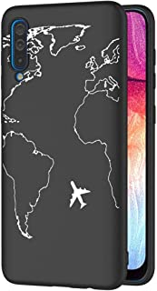 ZhuoFan For Oppo A53(2020)4G/A32 Case, Phone Case Silicone Black with Pattern Ultra Slim Soft Gel TPU Back Cover Bumper Sk...