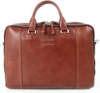 Dunlop Men Leather Briefcase