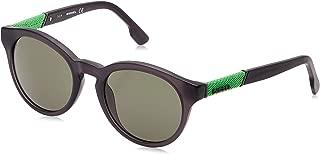 Plastic Frame Grey Lens Unisex Sunglasses DL01155120N