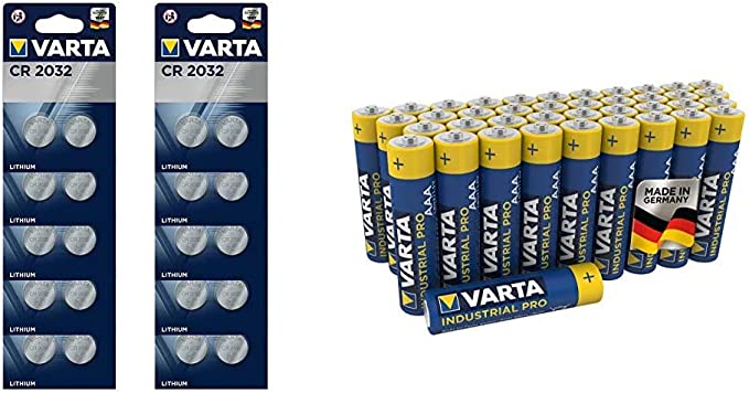 Varta Batterien Electronics Cr2016 Lithium Knopfzelle Elektronik