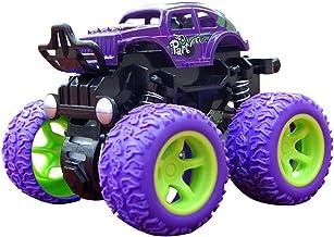 Matedepreso Kid's Monster Trucks Toys Mini Push and Go Car Truck Jam Playset Inertia Car Toys Friction Powered Cars Friction Powered Cars