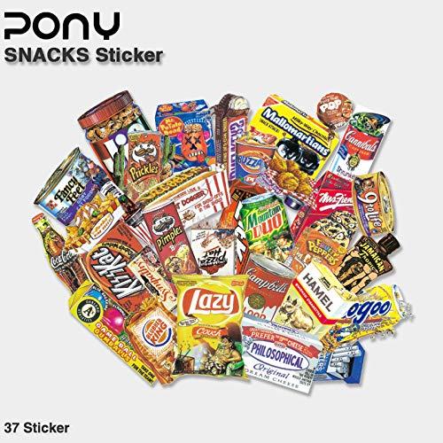 Fun Spoof voedsel verpakking koffer koffer Stickers Notebook Skateboard Tide Merk Waterdichte Stickers 37