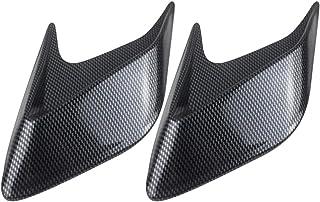 BESPORTBLE Air Flow Vent Car Exterior Hood Side Air Intake Flow Vent Shark Gills Outlet Decorative Trim Sticker for Car Au...