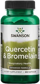 Sponsored Ad - Swanson Quercetin & Bromelain 250/78 Milligrams 100 Capsules
