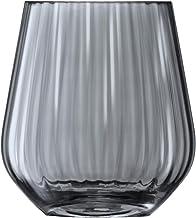 LSA ZI02 Zinc Vase/Lantern H16 cm Sheer Zinc