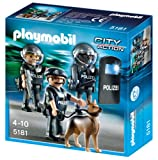 PLAYMOBIL Plamobil City Action - Unidad Especial de policía (5186)