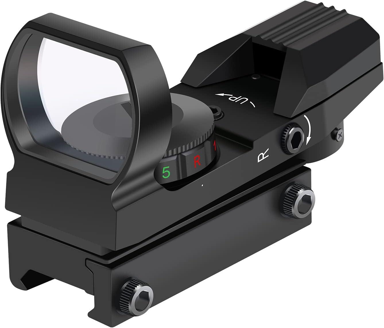 OTW Reflex Sight Field Sport Red and Green Reflex Sight with 4 R