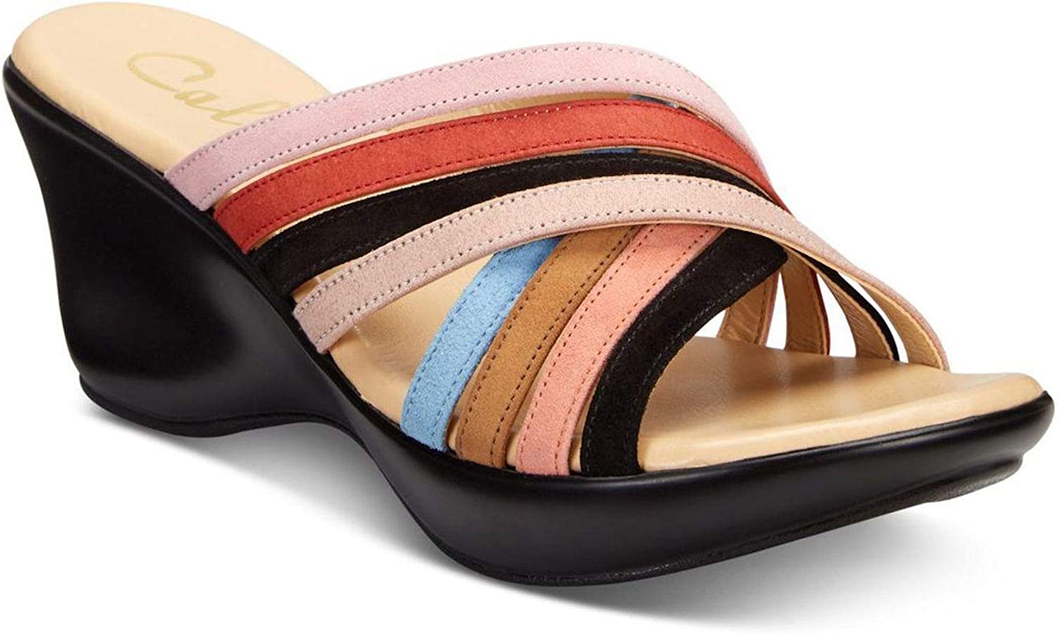 Callisto Womens Willowe Open Toe Special Occasion Slide Sandals