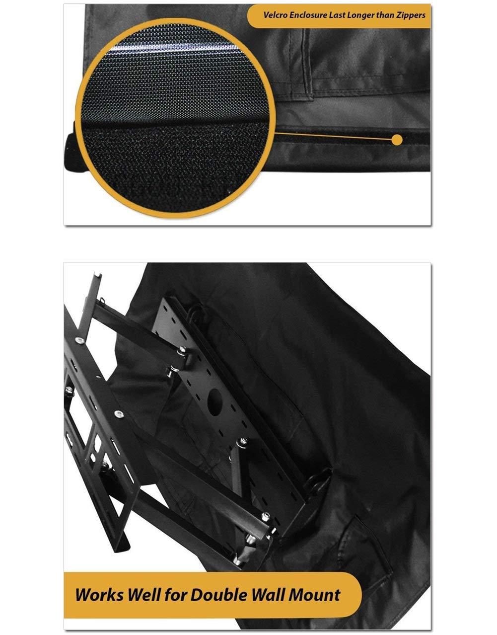 Cubierta De TV Para Exteriores, Tela Oxford Impermeable 600D, LCD ...