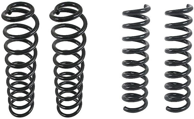 Front and Rear Coil Springs kit W211 Compatible Nippon regular agency Cheap SALE Start Mercedes with E3