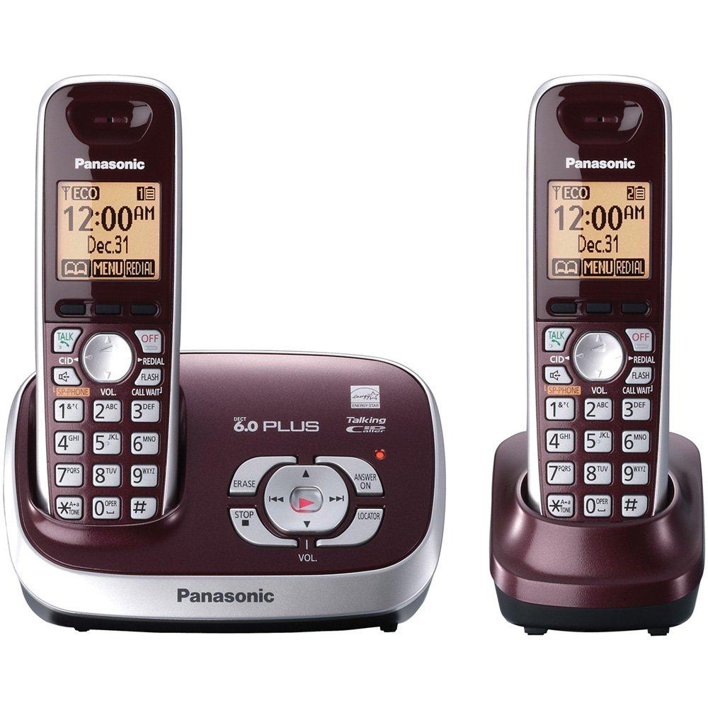 Panasonic KX TG6572R Cordless Answering Handsets