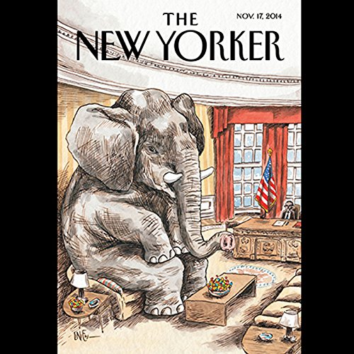 The New Yorker, November 17th 2014 (Paige Williams, David Remnick, Steve Coll) cover art