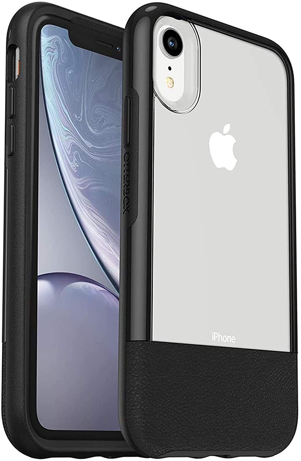 OtterBox STATEMENT SERIES for iPhone XR - LUCENT BLACK (CLEAR/BLACK)