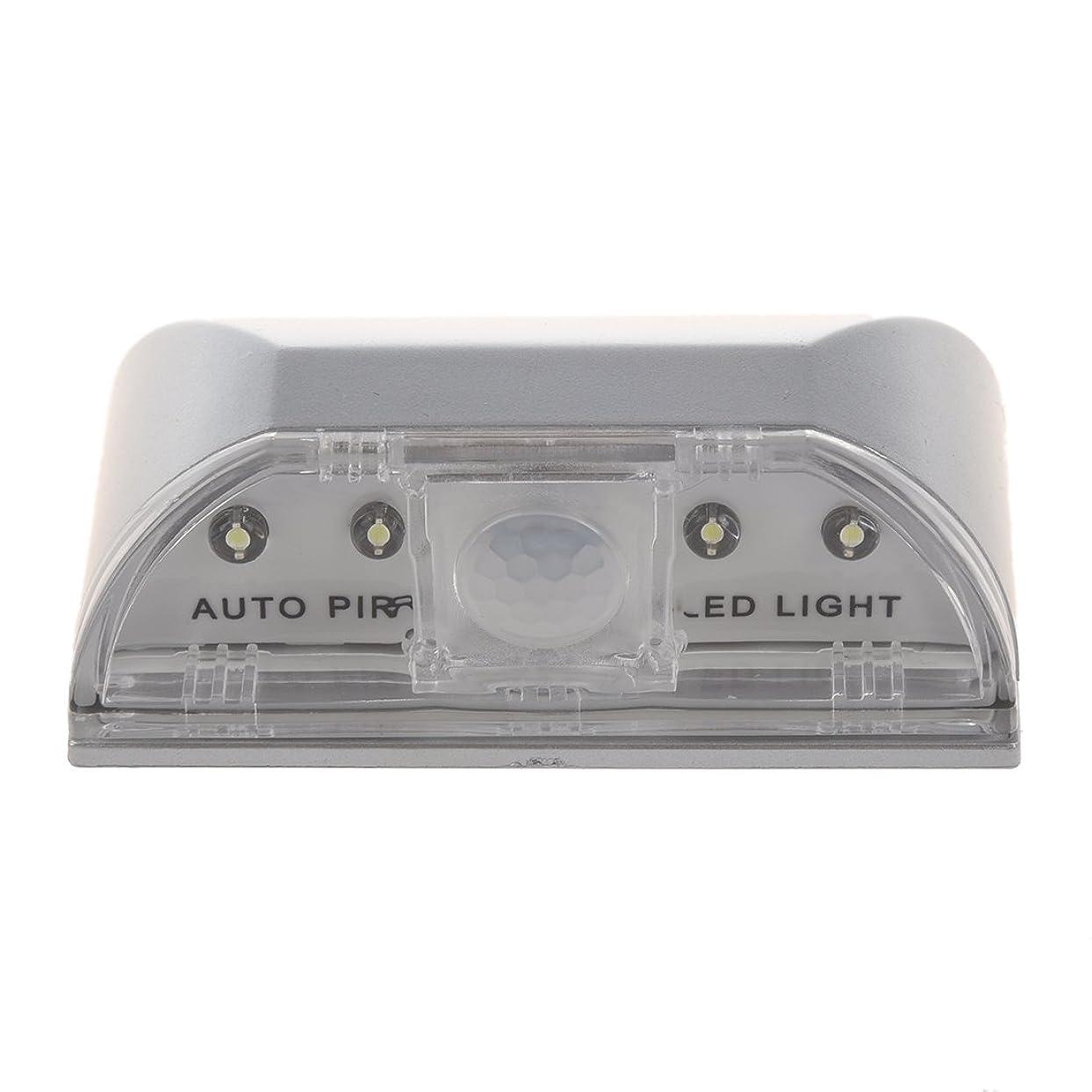 エンジニアリング体操選手コールドTOOGOO SODIAL (R) 自動PIRドア 鍵穴 モーションセンサー検出器LEDライトランプ キッチン、リビング、ベッドルーム、廊下、階段、引き出し、クローゼット、ウォールキャビネットに最適 (白)