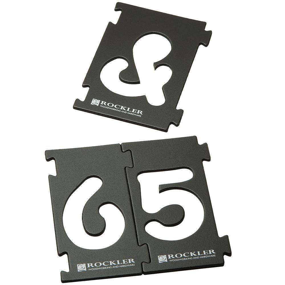 """4"""" Interlock Signmaker's Letter Kit"""