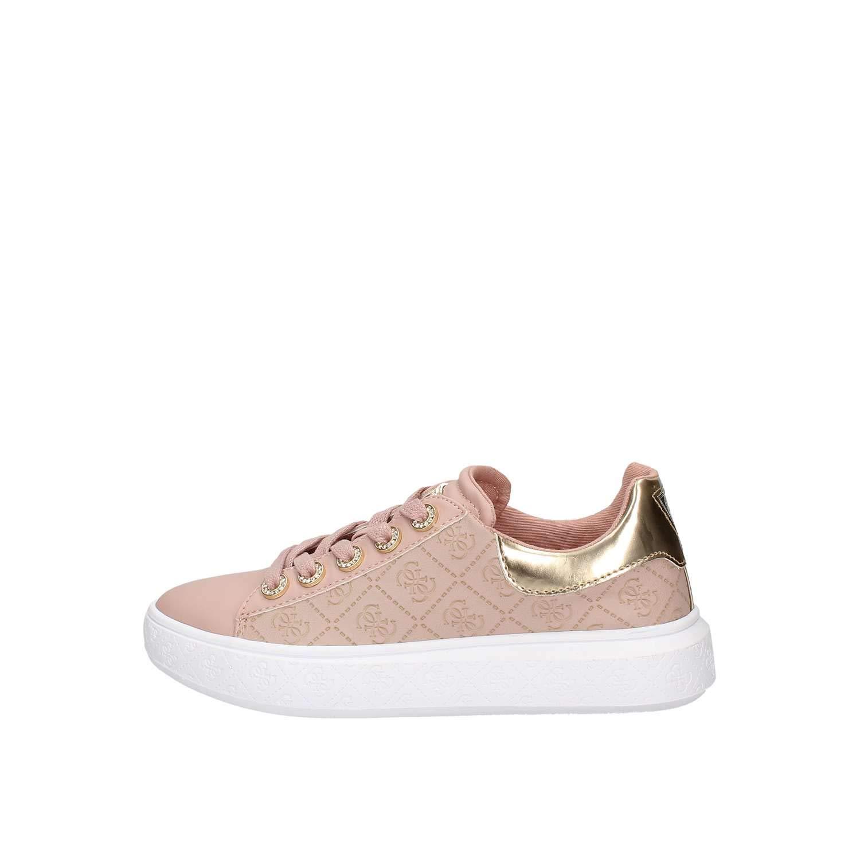 Guess, Bucky Pink Platform Sneaker for