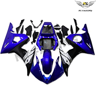 NT FAIRING Blue Black Injection Mold Fairing Fit for Yamaha YZF 2003-2005 R6 & 2006-2009 R6S New Painted Kit ABS Plastic Motorcycle Bodywork Aftermarket