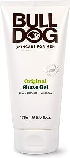 Bulldog Mens Skincare and Grooming Original Shave Gel, 5.9 Ounce