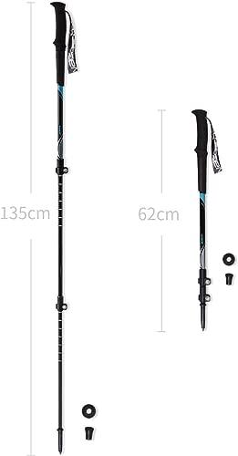 Zenph Ultralight Carbon Fiber Trekking Pole, Anti Shock Hiking/Walking/Trekking Trail Poles for Hiking, Camping, Mountaining, Backpacking [1 Pack]