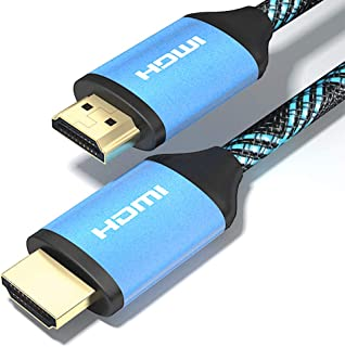 HDMI Cable 3ft 2-Pack 4K Ultra High Speed HDMI 2.0b Version Support 4K Ultra HDR 1080p 2160p 3D Ethernet CEC Xbox PS4 PS3 PC Apple TV
