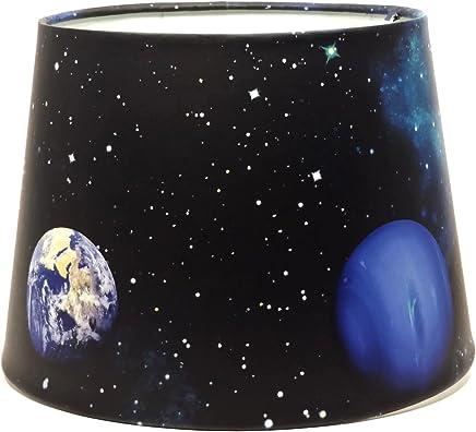 Space Lamp Light Lampshade Glitter Detail Galaxy Nebula