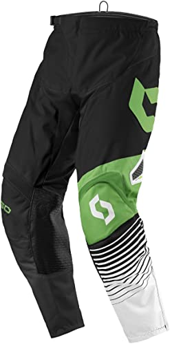 Scott 350Track MX Motocross DH Pantalon Vélo Noir Blanc Vert 2017