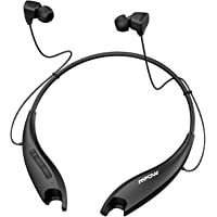 Mpow Upgraded Jaws Gen5 V5.0 Bluetooth Neckband Headset W/Call Vibrate & CVC 6.0 Noise Cancelling Mic