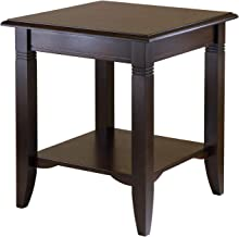 Winsome Wood Nolan Occasional Table, Cappuccino