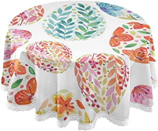 Amazon Com Tablecloths Easter Tablecloths Kitchen Table Linens Home Kitchen