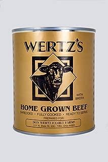 wertz canned meats