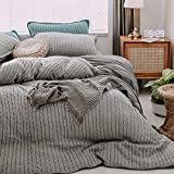 Funda nórdica Soft Soft Teddy Bear Fleece,Juego de cuatro piezas de cama de terciopelo de lana de punto de lana, edredón de cama de terciopelo de coral grueso para otoño e invierno de mujer-J_Rey
