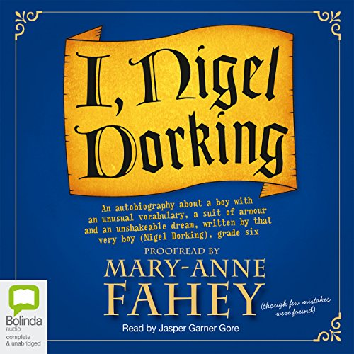 I, Nigel Dorking audiobook cover art