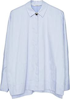 Uterque Women Shirt with Faux Pearl Button 0679/252