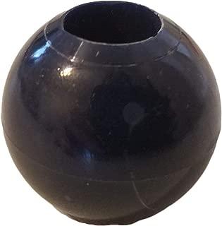 20 Navy Blue Marbella Plastic Acrylic Round Macrame Craft Beads 30mm (1-1/4