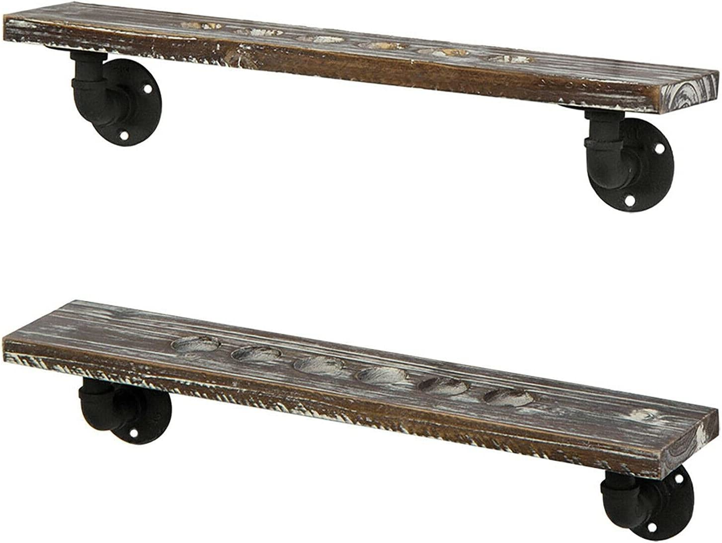 Cheap sale 6 Pool Cue Wood and Max 84% OFF Industrial Po Pipe Metal Rack Wall Billiards