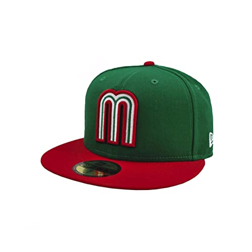 7f197d26763 New Era Men 59fifty World Baseball Classic Mexico Hat Cap