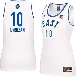 adidas DeMar DeRozan #10 Women's 2016 Toronto NBA All Star Game Jersey White