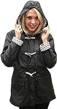 Apparel No. 5 Damen Regenmantel mit Kapuze