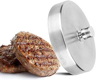Hamburguesa de acero inoxidable Prensa de carne Hamburguesa Prensadora de moldes Máquina de cocina Hamburguesa, tocino, parrilla Prensa para el hogar
