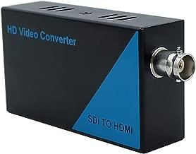 YYT Micro Converter SDI to HDMI, 3G-SDI, HD-SDI, SD-SDI to HDMI UHD 1080P Digital Adapter, Audio and Video Synchronous Transmission